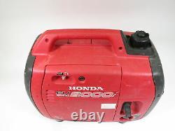 Honda Eu2000i 1600 Watt Générateur D'onduleur Portatif Alimenté Au Gaz