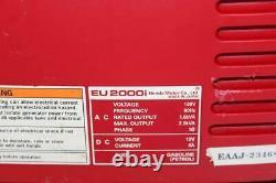 Honda Eu2000i 2000 Watt 120v Super Quiet Onduleur Générateur