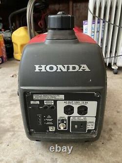 Honda Eu2000i 2000 Watt Générateur Portable Avec Onduleur (besoins Carb Work)