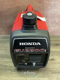 Honda Eu2200i 2200-watt Générateur D'onduleur Portatif À Gaz Super Silencieux