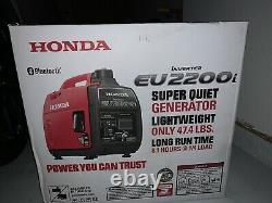 Honda Eu2200i 2200-watt Super Quiet Onduleur Portable Générateur Avec Co-minder