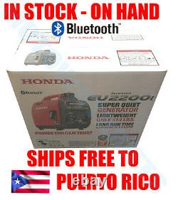 Honda Eu2200itag 2200 Watt Générateur D'onduleur Super Silencieux Avec Bluetooth