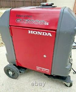 Honda Eu3000is 3000 Watt 120v Générateur D'onduleurs Avec Kit Propane