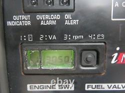 Honda Eu6500is 6500 Watt 13 HP Inverter Générateur De Roue Avec Ses 4