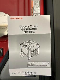 Honda Eu7000is 7000 Watt 120/240v Générateur D'onduleurs Q-25