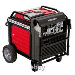 Honda Eu7000is 7000 Watt Génératrice À Onduleur Avec Démarrage Électrique 660270 Nouveau