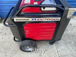 Honda Eu7000is 7000-watt 120/240v Super Quiet Light Weight Onduleur Générateur