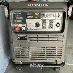 Honda Eu7000is Fi Générateur Silencieux D'onduleur Portatif De Démarrage Électrique 5500 Watt #2