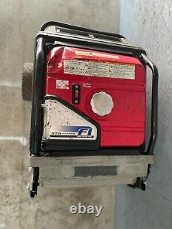 Honda Eu7000is Fi Générateur Silencieux D'onduleur Portatif De Démarrage Électrique 5500 Watt De Gaz