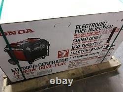 Honda Ultra Quiet 7000-watt Essence Powered Onduleur Électrique Générateur De Démarrage