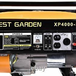 Meilleur 4000 Watt Portable Emergency Gas Generator Engine 7.5hp 120v Recoil Start