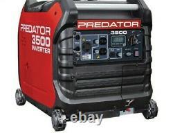 Nib- Predator 3500 Watt Super Quiet Onduleur Generator Livraison Gratuite