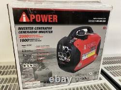 Nouveau Générateur D'onduleur Portatif A-ipower 2000 Watts Alimenté À L'essence Sua2000i