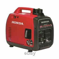 Nouveau Générateur Portable Honda Eu2200i Recul Démarrer Essence 2200-watt Bluetooth