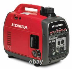 Nouveau Honda Eu2200ita 2200-watt Super Quiet Gas Power Générateur D'onduleur Portable