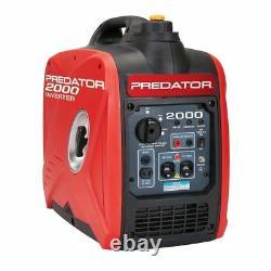 Nouveau Predator 2000 Watt Générateur Inverter Le Bateau Libre De Puerto Rico