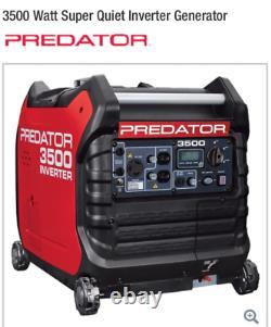 Nouveau Predator 3500 Watt Super Générateur D'inverseur Silencieux Envío Gratis A Puerto Rico