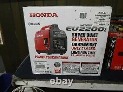 Nouvelle Honda Eu2200i 2200-watt 120-volt Super Silencieux Générateur D'onduleur Portable