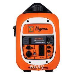 Pickup Sigma 2400 Watts Surge Puissance Super Silent Générateur D'inverseur Parallèle