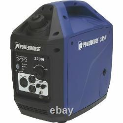 Powerhorse Portable Inverter Generator 2300 Surge Watts, 1800 Watts Notés