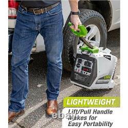 Powersmith Pga2200i Portable 2200 Watt 1 Gallon Générateur D'inverseur De Puissance De Gaz