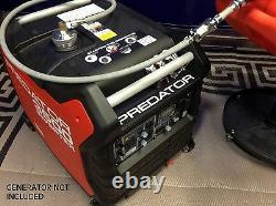 Predator 3500 Watt Générateur D'onduleurs 6 Gallons Système De Carburant À Long Terme