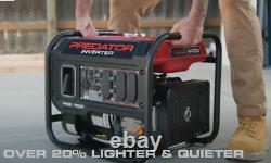 Predator 4400 Watt Générateur D'onduleur Portable Silencieux Envio Gratis A Puerto Rico