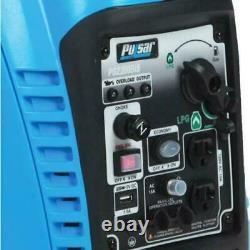 Pulsar 2200 Watt Générateur D'onduleur Portatif À Double Carburant À Essence Propane Pg220