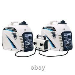 Pulsar 2300 Watt Gaz Portable Alimenté Super Silencieux Générateur D'onduleurs Pg2300is