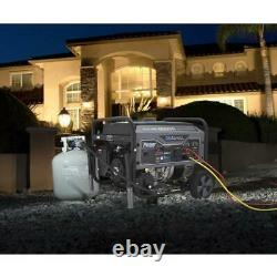 Pulsar 6500 Peak/5500 Rated Watt Dual Fuel Gas/lpg Portable Generator Rv Prêt