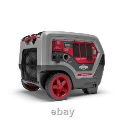 Q6500 Quietpower 6500-watt Recul Démarrer L'essence Alimenté Générateur D'onduleur Wit