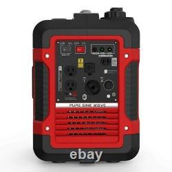 Rockpals 2000watt Générateur Portable Super Silencieux Générateur D'inverseur Avec 9 Heures