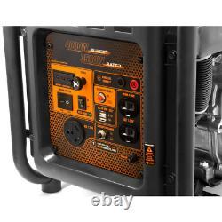 Rv-ready 4000-watt Générateur D'onduleur À Cadre Ouvert Alimenté Au Gaz, Compatible Carb