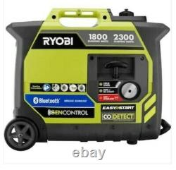 Ryobi 2300-watt Recoil Démarrer Bluetooth Super Silencieux Essence Powered Digital