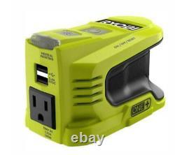 Ryobi Ryi150bg 150watt Powered Inverter Generator 18v With4 Ah Batterie, Chargeur, Sac