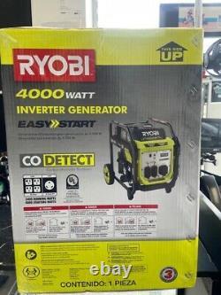 Ryobi Ryi4022nvm Générateur D'onduleur Numérique D'essence À 4000 Watts (e10013557)