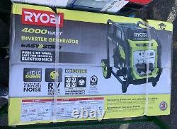 Ryobi Ryi4022x 4000 Watt Essence Powered Digital Inverter Generatornew