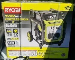 Ryobi Ryi4022x 4000 Watt Générateur D'onduleur Numérique Alimenté Par L'essence