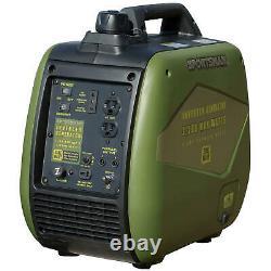 Sportif 1 800 / 2 200 Watts Générateur D'essence Numérique D'onduleur Gratuit Expédition