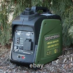 Sportman 1000 Watt Inverter Parallel-gasoline Générateur Certifié Remis À Neuf