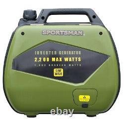 Sportman 2200 Watt Générateur D'inverseur De Carburant Double Certifié Remis À Neuf