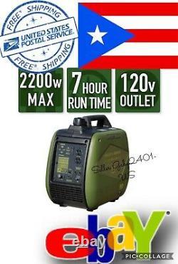 Sportsman 2200-watt Essence Powered Inverter Livraison Gratuite À Porto Rico
