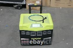 Sun Joe Sj1440sg 1440 Watt Batterie Alimentée À L'intérieur / À L'extérieur Générateur D'inverseur