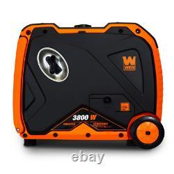 Super Silencieux 3800-watt Alimenté Par Le Gaz Rv-ready Générateur D'onduleur Portable Avec Du Carburant