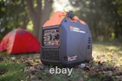 Wen 56203i Super Quiet Silent2000-watt Onduleur Portable Générateur De Carburant Arrêté