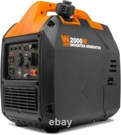 Wen 56203i Super Silencieux 2000-watt Générateur D'onduleur Portable Avec Arrêt De Carburant