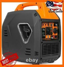 Wen 56235i 2350-watt Super Quiet Onduleur Portable Générateur W Carburant Éteint Nouveau