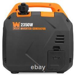 Wen 56235i Super Quiet 2350-watt Générateur D'onduleur Portable Avec Le Carburant Arrêté