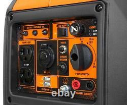 Wen 56235i Super Silencieux 2350-watt Générateur D'onduleur Portable Avec Arrêt De Carburant