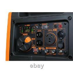 Wen 56380i Super Quiet 3800 Watt Générateur D'onduleur Portable Avec Démarrage Électrique